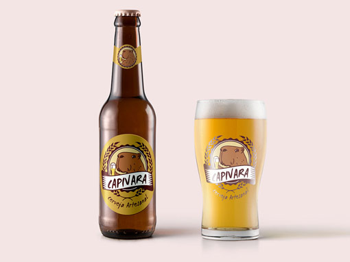 Rótulo e Marca Cerveja Artesanal